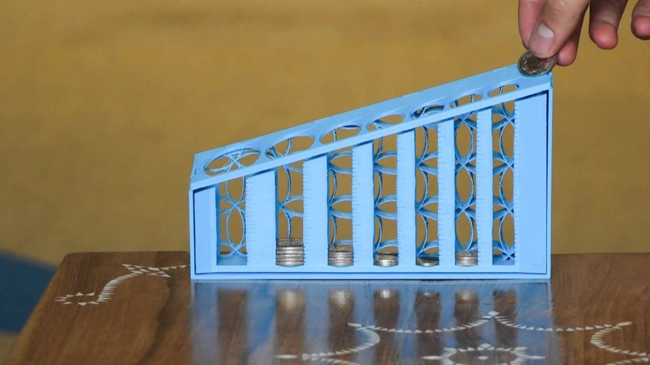 Auto Coin Sorter for All Currencies by youngcat - Thingiverse