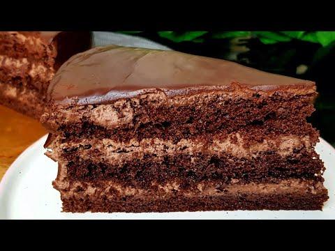Шоколадный торт вкусный шоколадный торт рецепт с фото в домашних условиях