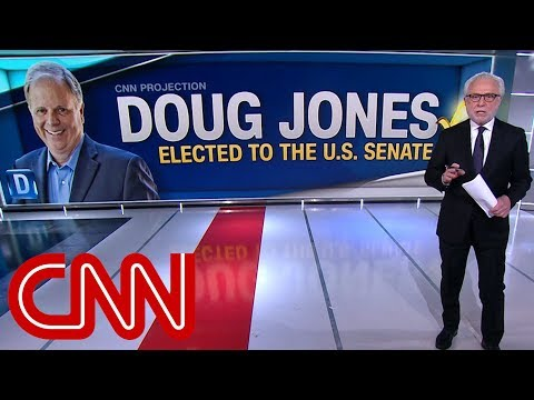 Doug Jones beats Roy Moore, CNN projects