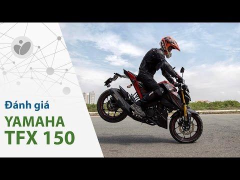 Xe.Tinhte.vn - Đánh giá chi tiết Yamaha TFX150 - đẹp, lạ và làm được nhiều trò vui vẻ