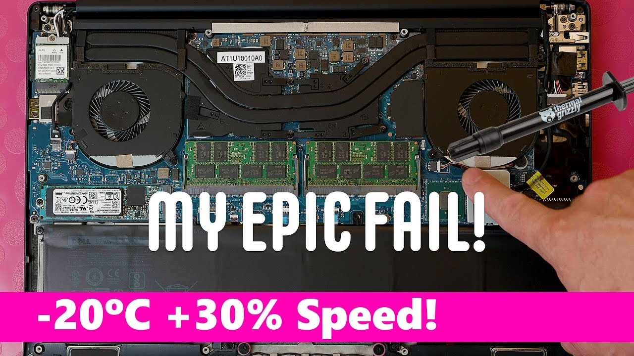 Liquid Metal Laptop Cooling – 20C LOWER! 30% FASTER - But is it worth it?  🔥🔥🔥🔥🔥