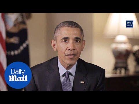 Obama on San Bernardino: 'We will not be terrorized' - Daily Mail