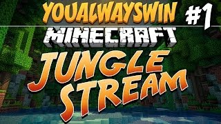 ★ Minecraft: JUNGLE STREAM ★ Ep.1, Dumb and Dumber