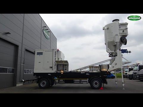 Vacuum Unit For Catalyst Handling - VacTrailer CAT