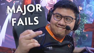 FAILS and FUN moments of WePlay Major