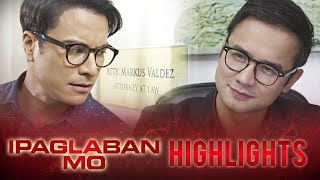 Markus discovers that Cedric is using his name and identity   Ipaglaban Mo