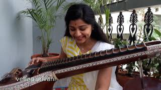 Yembuttu Irukkuthu Aasai SONG on veena by Veena Srivani