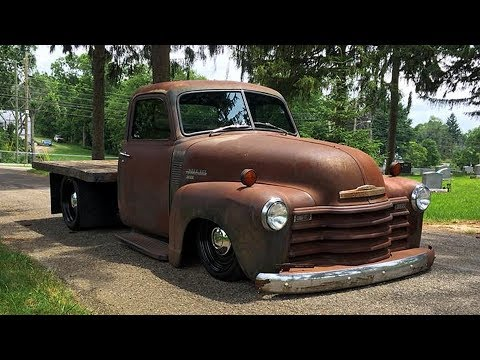 1952 Chevrolet 3600 Rat Rod Flatbed Truck Build Project Youtube