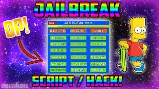 *NEW* Roblox Script/Hack | Jailbreak GUI V5.5 | Speed, Teleports, Noclip and More [FREE]