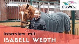 Isabell Werth über ihre Favoritenrolle beim Weltcupfinale 2018 in Paris
