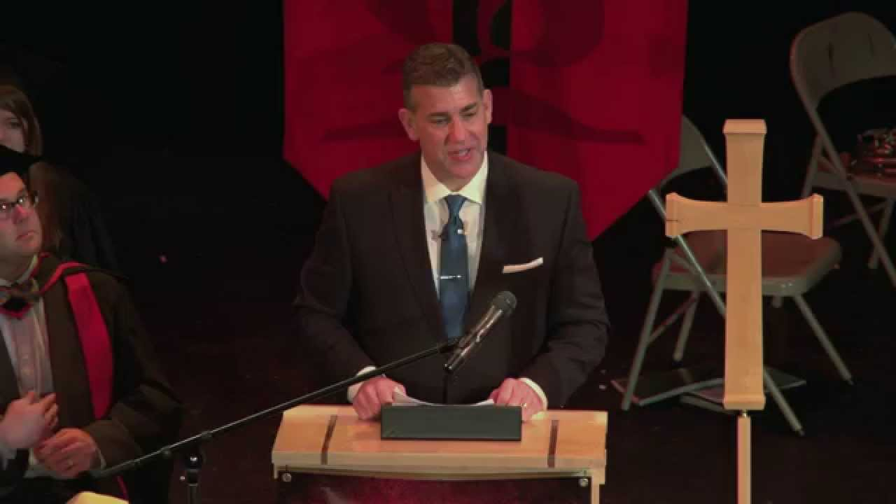 David Francis - Trinity Lutheran College Commencement ...