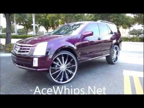 Acewhips Net Arctic Customs Candy Purple Cadillac Srx On