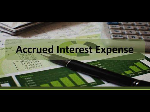 Accrued Interest Expense Example