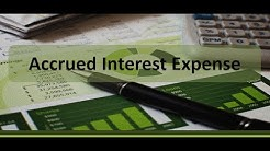 Accrued Interest Expense Example