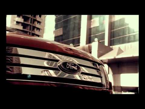 Ford Edge Commercial Shot In Dubai