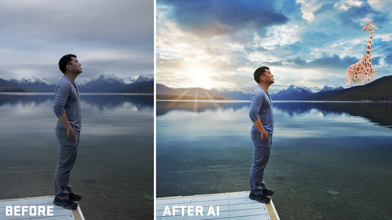 I Used AI To Edit My Photos.... Mind Blown....