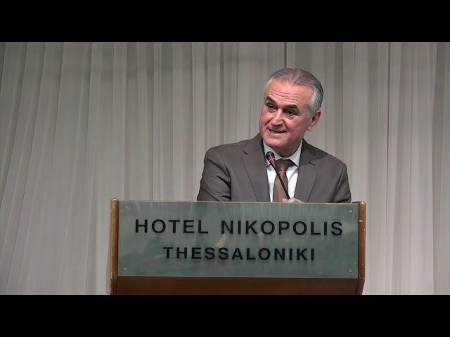 Σ.Αναστασιάδης, παρουσίαση του βιβλίου του στο ξενοδοχείο Νικόπολις
