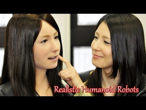 The Most Realistic Humanoid Robots From Japanese Robotics || Development Of Artificial Intelligence.