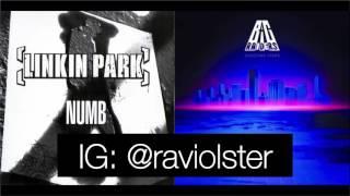 Bag Raiders - Shooting Stars vs. Linkin Park - Numb Mashup