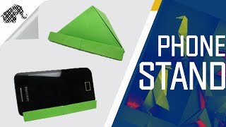 Origami - How To Make An Origami Phone Stand/Holder