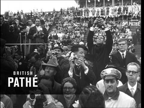 President Johnson Opens New York World