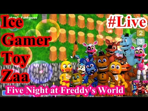 [live] Five Nights at Freddy's World Replay