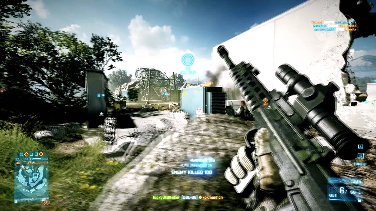 Download Battlefield 3 How to get the QBU-88 Sniper Rifle