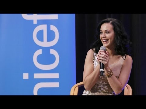 Katy Perry's Unconditional Support for Children - Goodwill Ambassador | UNICEF