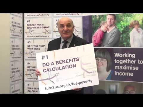 Stephen Pound, MP supports Turn2us Fuel Poverty campaign