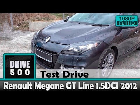 Renault Megane GT Line 2012 1.5DCI Обзор и тест драйв!