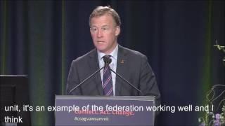 2016 Coag Vaw Summit: Will Hodgman, Premier Of Tasmania (national Showcase)
