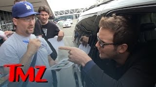 Chris Pratt -- Don't Cuss At Me! Flips on Autograph Hounds | TMZ