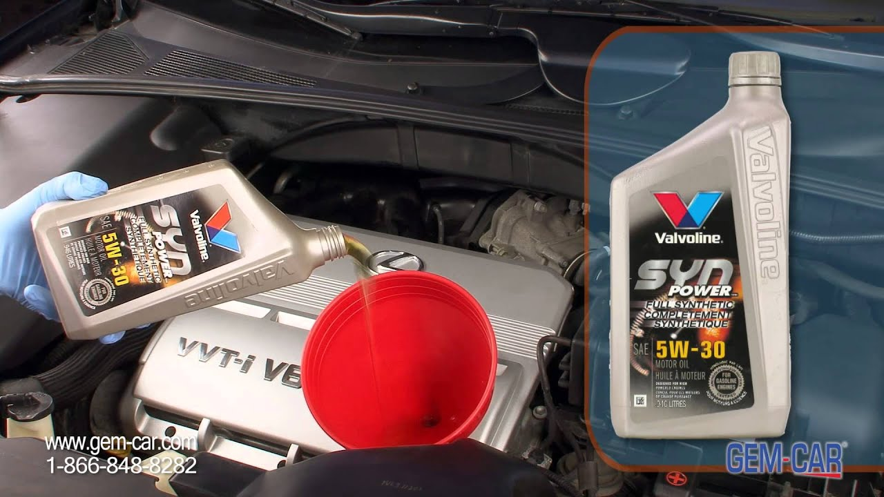 Synthetic Oil Change >> Why choose Synthetic Oil change ? - Valvoline - Napa - Powered by GEM-CAR - YouTube