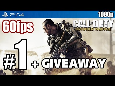 Call of Duty Advanced Warfare (PS4) Walkthrough PART 1 + GIVEAWAY 60fps [1080p] TRUE-HD QUALITY