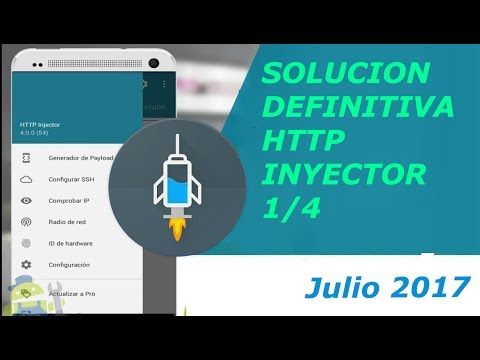 SOLUCION DEFINITIVA HTTP INYECTOR 1/4