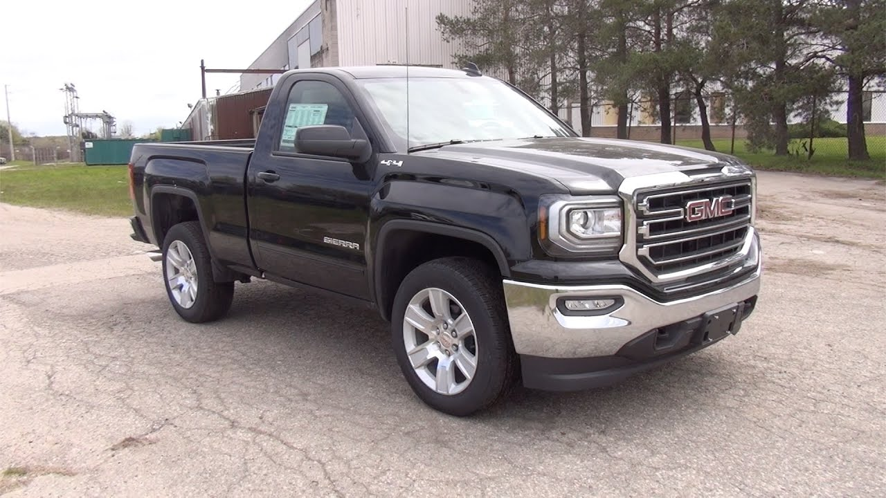 2017 gmc sierra 1500 4wd regular cab standard box sle bennett gm new car dealer youtube. Black Bedroom Furniture Sets. Home Design Ideas