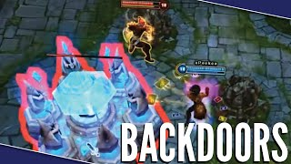 League Of Backdoors - League Of Legends Montage