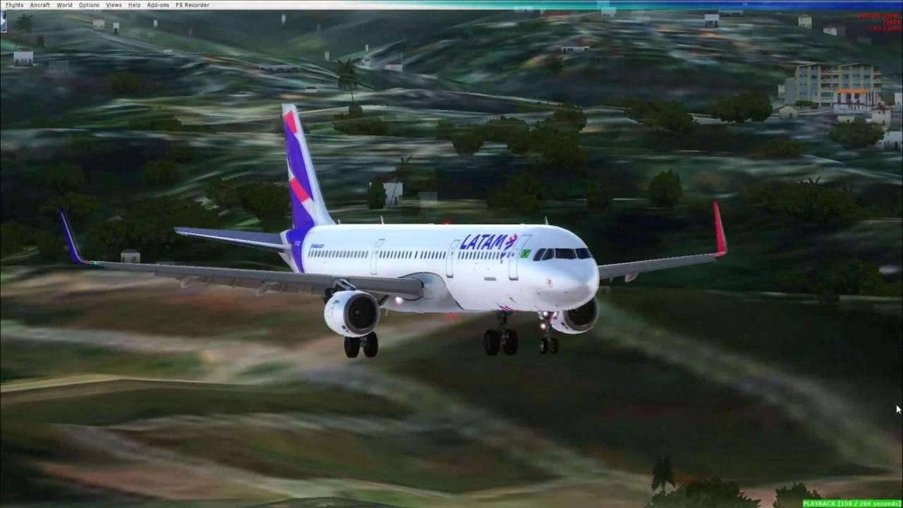 [FSX] Pouso Salvador(SBSV) A321 LATAM