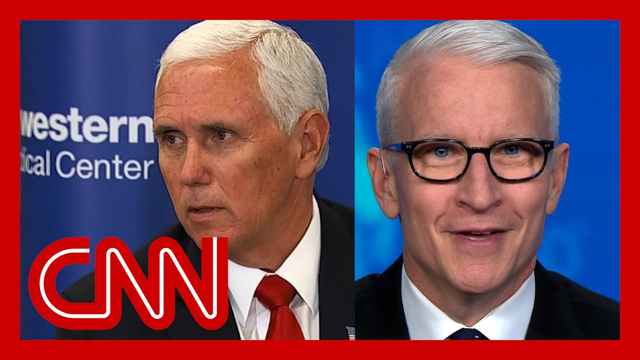 See Anderson Cooper's reaction to Mike Pence using the 'm-word'