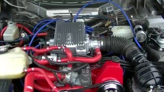 1984 Ford Capri 2.8 Injection Cologne V6 first start after rebuild part 2