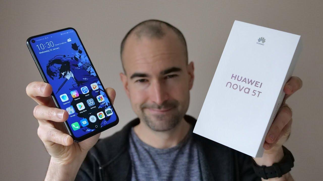 Huawei Nova 5T | Unboxing & Tour
