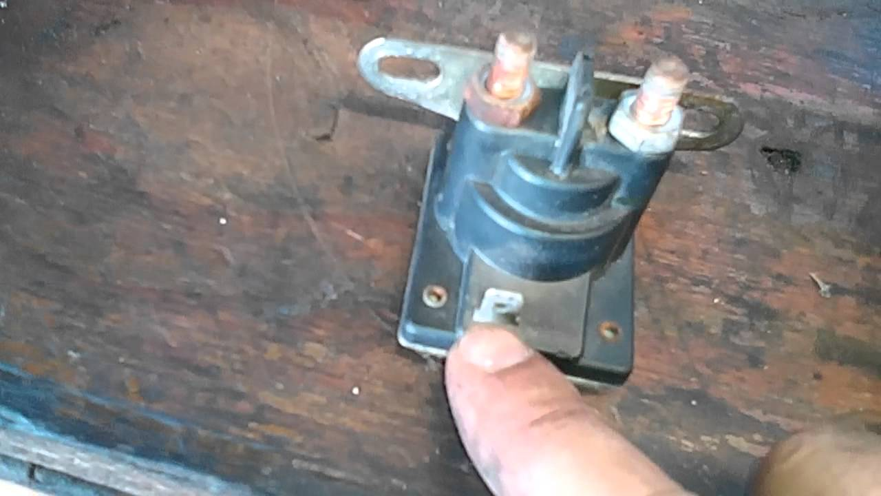 simple wiring for toggle switch and push button start [ 1280 x 720 Pixel ]