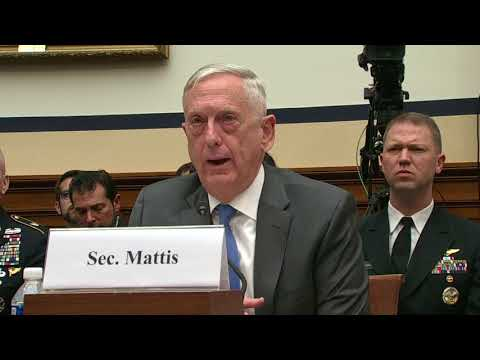 James Mattis: 'I believe there was a chemical attack in Syria'