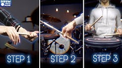 3 Steps To FASTER Hand Speed - Drum Beats Online