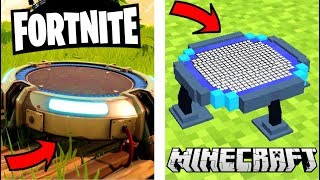 LE TOUT PREMIER MOD OFFICIEL FORTNITE BATTLE ROYALE ! MINECRAFT