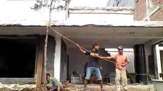 Download Video Kayu di tebang tidak bisa roboh di depan rumah kepala desa sunguh angkernya MP3 3GP MP4