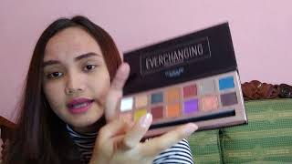 Foccalure Everchanging Review & NYX Auto Eyenrow Pencil (REVIEW BAHASA)