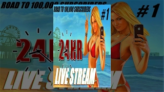 GTA 5 : 24 HOUR LIVE STREAM - GTA 5 OPEN LOBBIES W/ SPECIAL GUEST - PLAYSTATION 4 - part #1