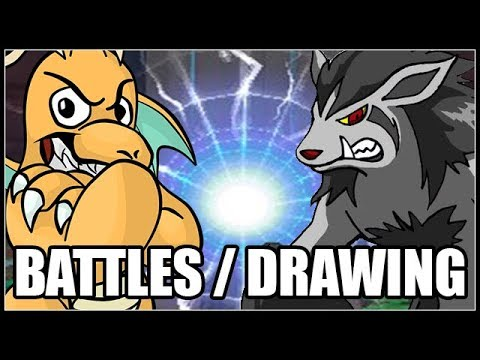 BATTLE ME  POKEMON DRAWINGS AND CHILL!