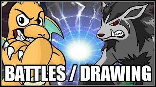BATTLE ME / POKEMON DRAWINGS AND CHILL!